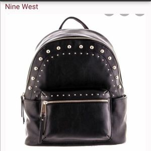 Studded Nine West Backpack Purse